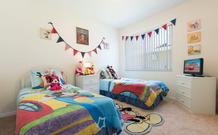 Themed Disney Bedroom