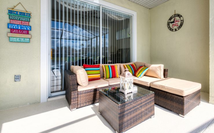 Comfy Outdoor Seating Area